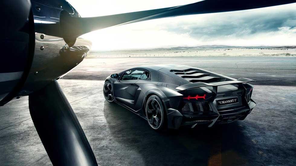 Mansory Carbonado, un Lamborghini llevado al límite