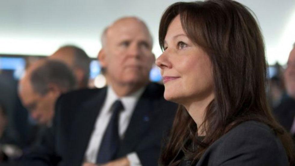Mary Barra, nueva consejera delegada de GM