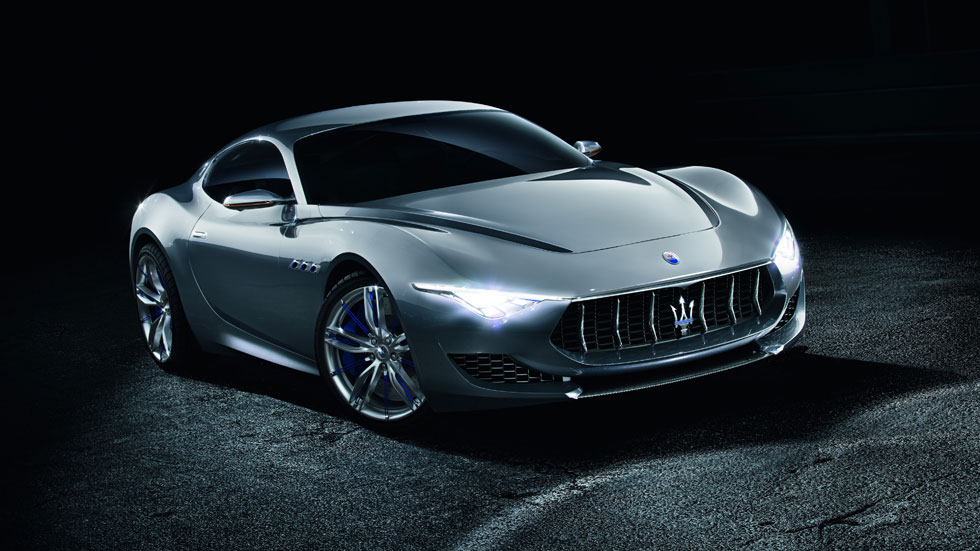 Maserati Alfieri, a por el Porsche 911