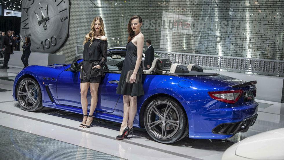 Maserati GranTurismo y GranCabrio MC Stradale Centennial Edition