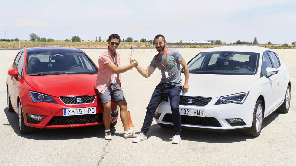 Maxi Iglesias y Santi Millán, en el Reto AUTOPISTA, ¿lo logran? Vídeo