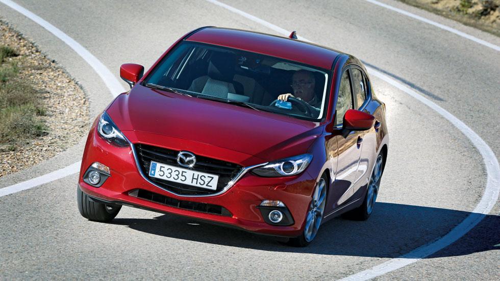 Prueba: Mazda 3 2.0 120 CV Luxury 5p, buenas sensaciones