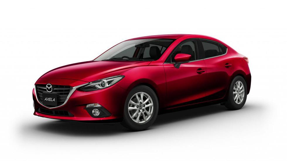La versión híbrida del Mazda 3, a punto