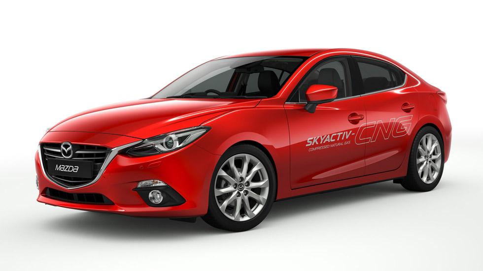 Mazda 3 Skyactiv-NCG: gas natural para el compacto japonés