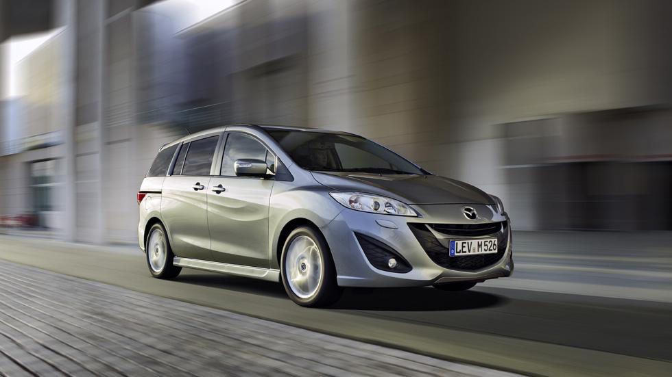Mazda 5, más seguro y confortable