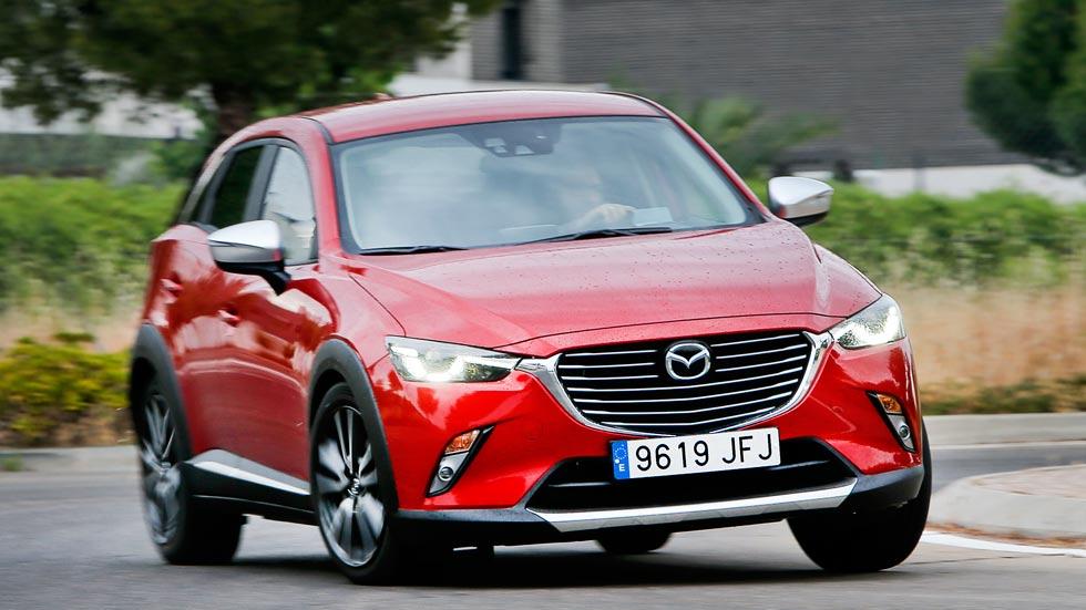 Mazda CX-3, ¿es un coche para mujeres? Vídeo