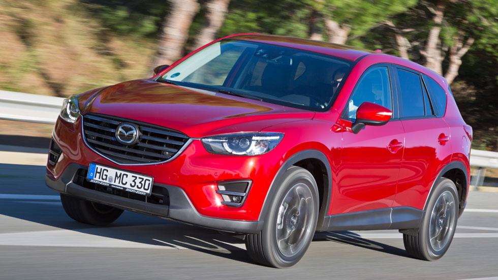 Primera prueba: Mazda CX-5 2015, éxito reforzado