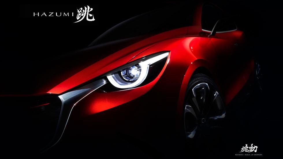Mazda Hazumi Concept, el futuro Mazda 2
