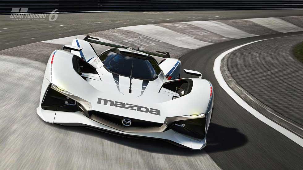 Mazda LM55 Vision GranTurismo, tributo virtual a Le Mans