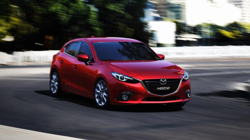 Mazda 3 5 puertas 2013 , aire de familia