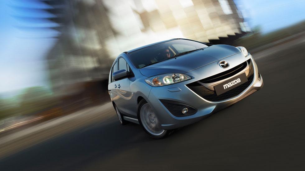 Mazda 5: el monovolumen más fiable