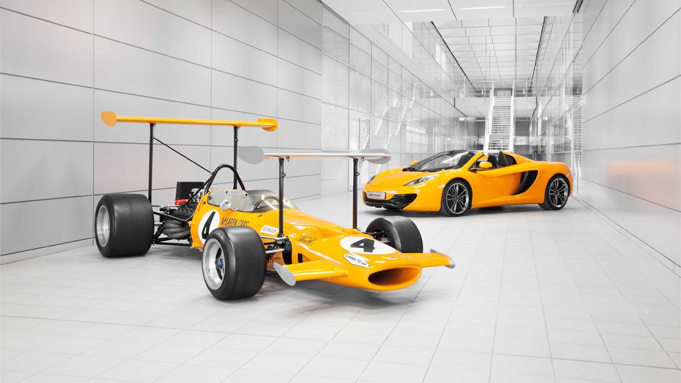 McLaren cumple 50 años, una historia repleta de éxitos