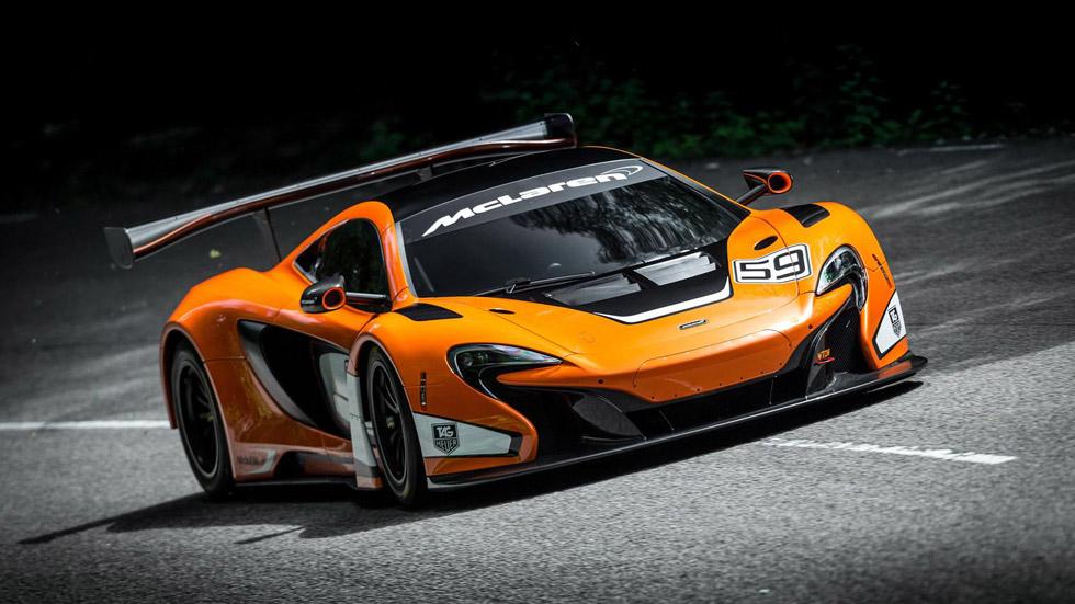 McLaren 650S GT3, la nueva bestia británica para circuitos