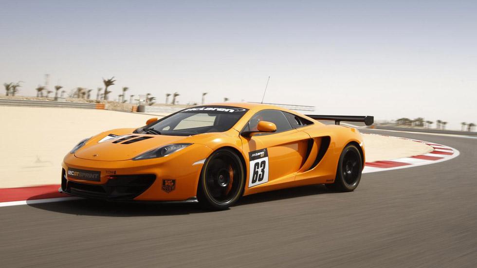 McLaren MP4-12C GT Sprint, solo para los circuitos
