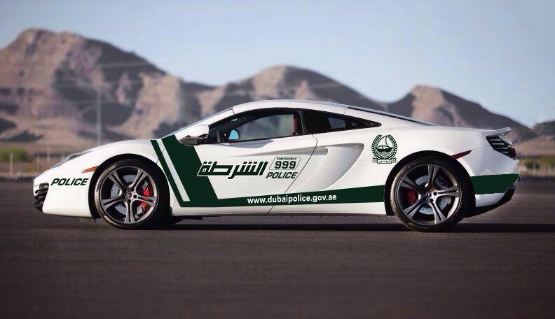 McLaren MP4-12C, tenemos nuevo policía en Dubai