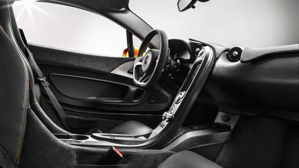 McLaren P1, primeras imágenes de su interior