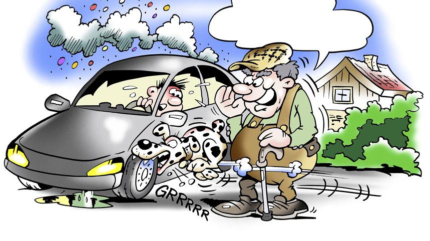 Los mejores chistes de coches