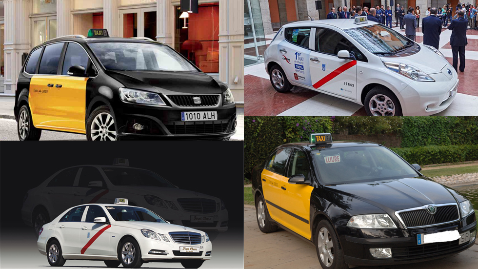 Los mejores coches para taxi