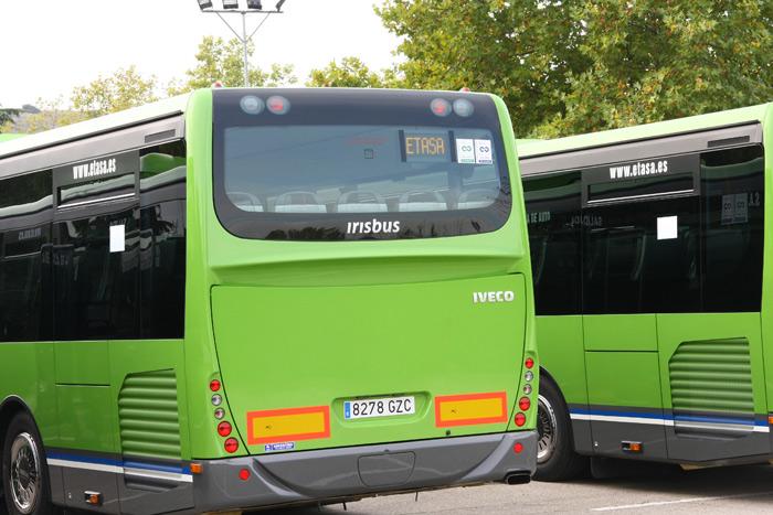 370 empresas de autobuses menos a causa de la crisis