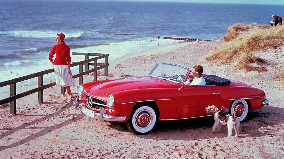 Mercedes 190 SL, 60 años de historia del icono descapotable alemán