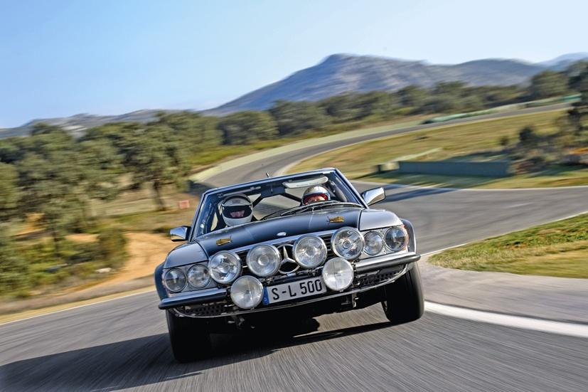 Mercedes 500 SL: A las puertas del cielo
