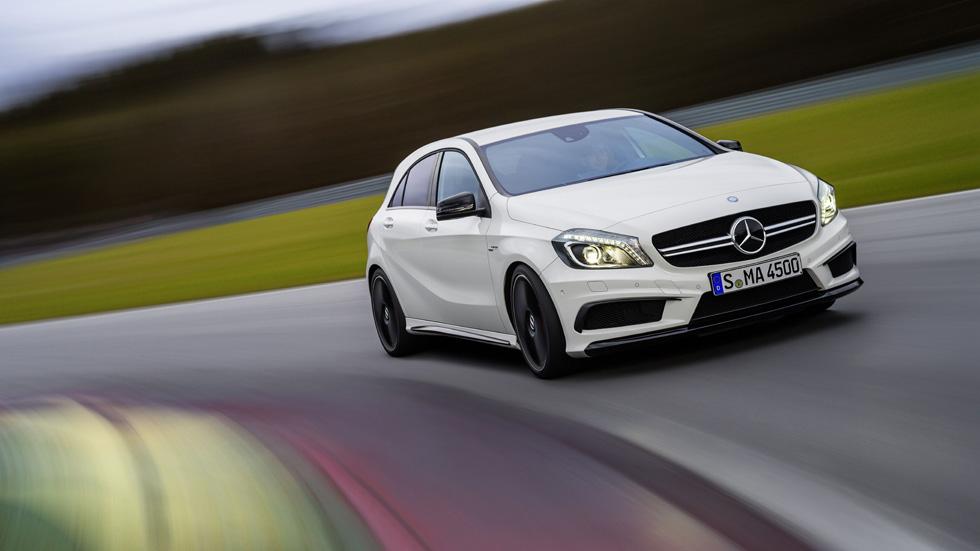 Mercedes Clase A 45 AMG, 360 CV para la nueva estrella