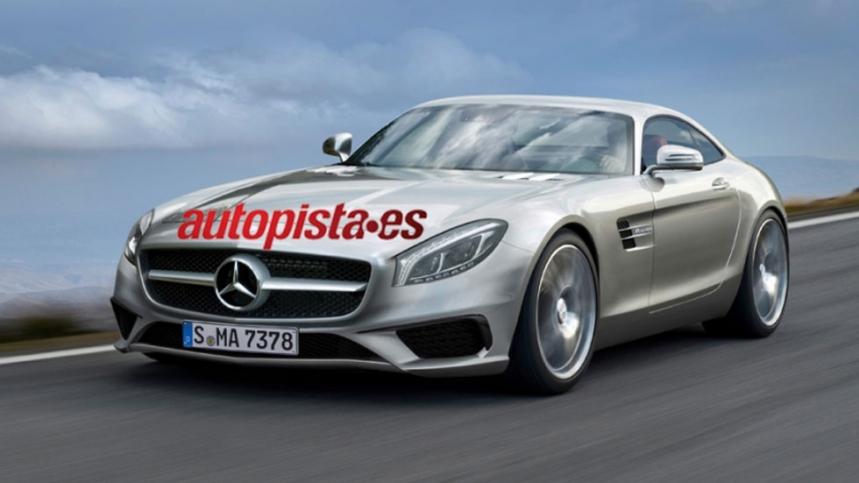 El Mercedes AMG GT, con nuevo motor 4.0 V8 biturbo