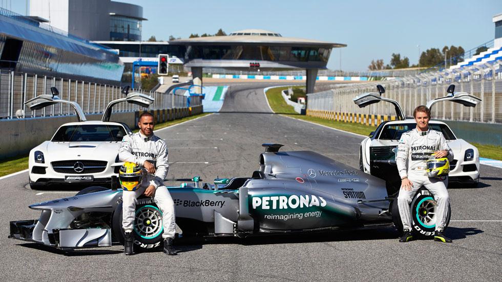 Mercedes AMG Petronas F1 Team: adios Schumacher, bienvenido Hamilton