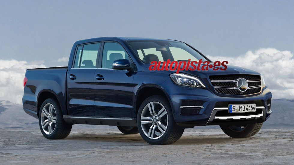 Mercedes-Benz tendrá un pick-up en 2017