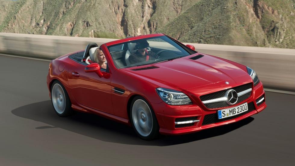 Mercedes actualiza sus descapotables SLK y SL