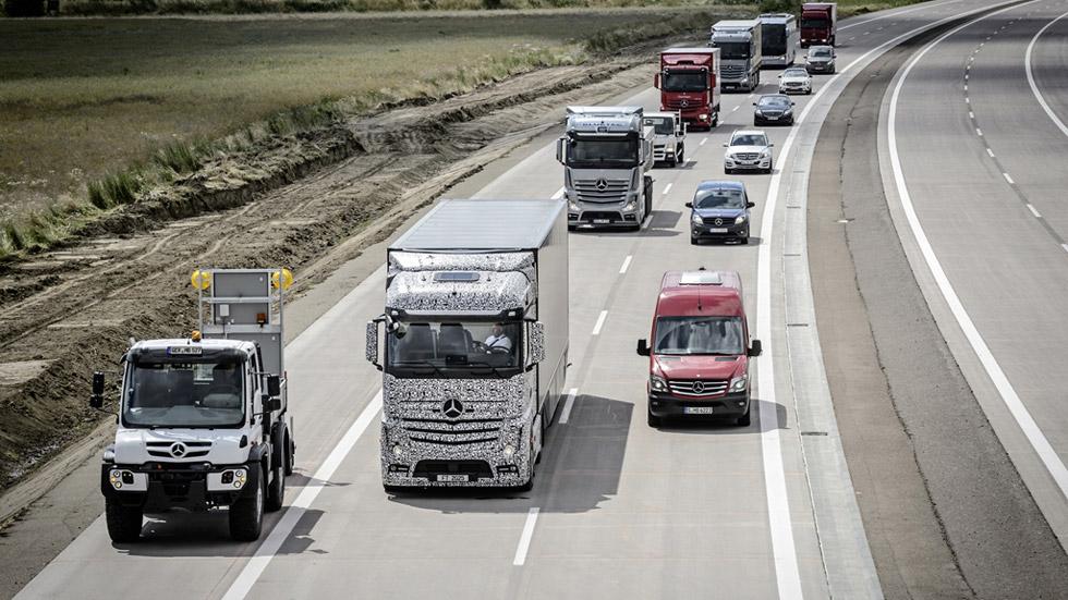 Future Truck 2025, el camión autónomo de Mercedes