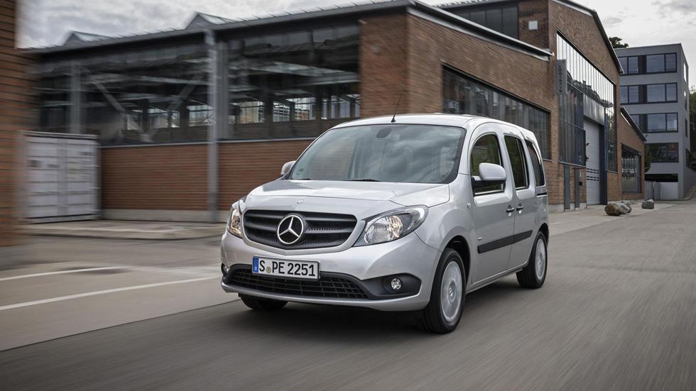 Mercedes Citan: versión Crewbus y nuevos motores