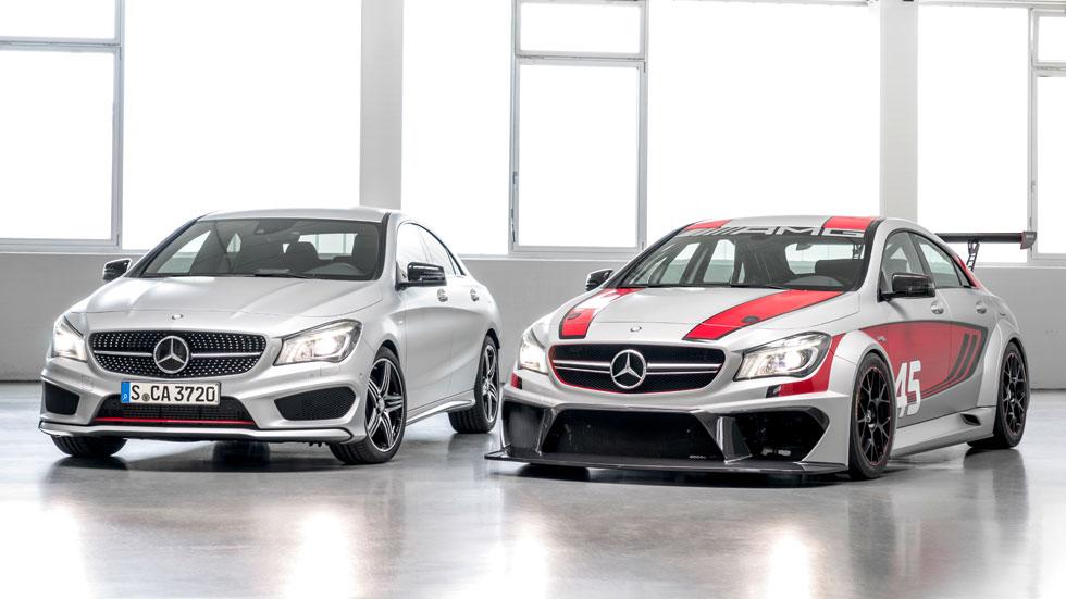 Mercedes CLA 250 Sport y CLA 45 AMG Racing Series