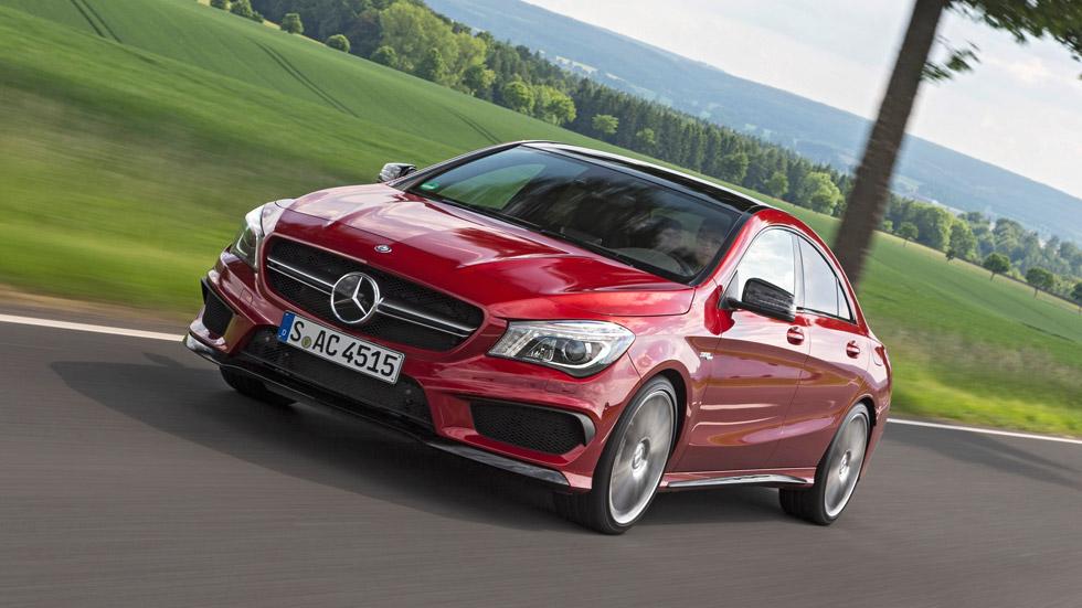 Mercedes CLA y GLA 45 AMG, ahora más rabiosos