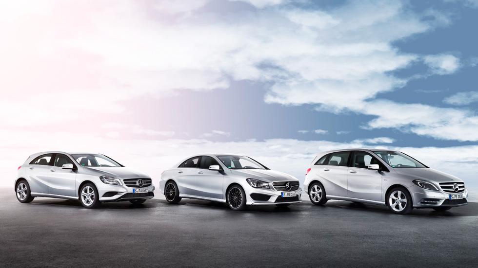 Novedades mecánicas para los Mercedes Clase A, B y CLA