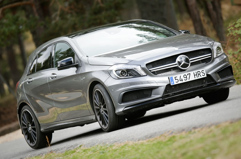 Prueba: Mercedes A 45 AMG, el compacto más radical