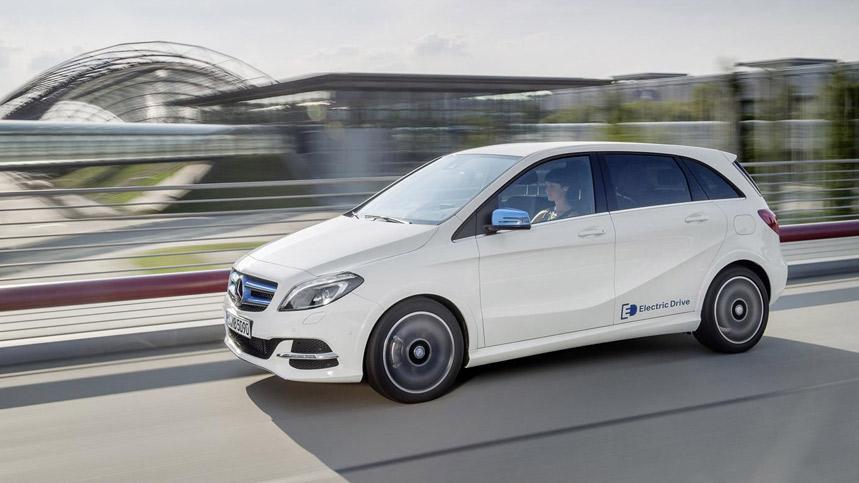 El nuevo Mercedes Clase B 2015, con versión eléctrica