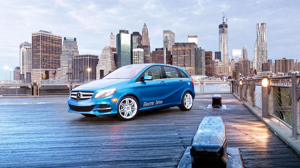 Mercedes Clase B eléctrico, versatilidad eficiente
