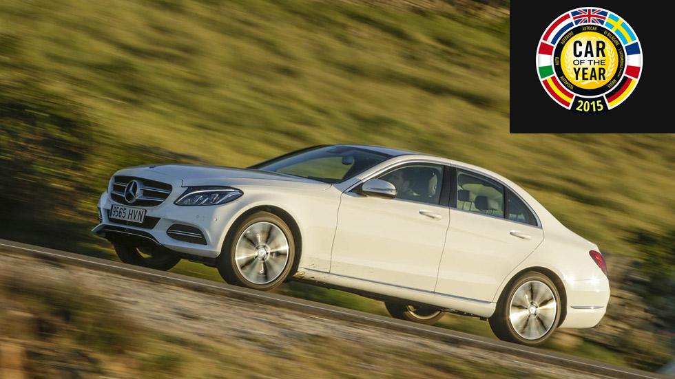Pros y contras del Mercedes Clase C, finalista del Car of The Year 2015
