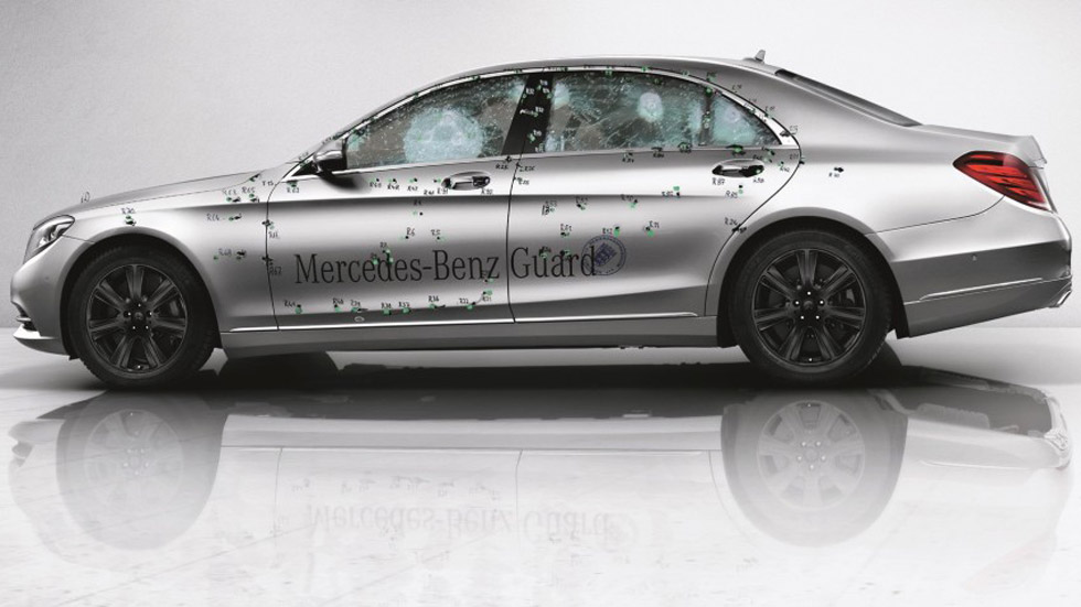 Mercedes Clase S Guard, a prueba de balas