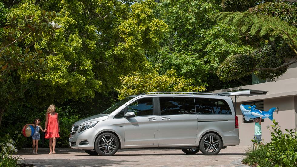 Nuevo Mercedes Clase V, la apuesta de lujo para las familias