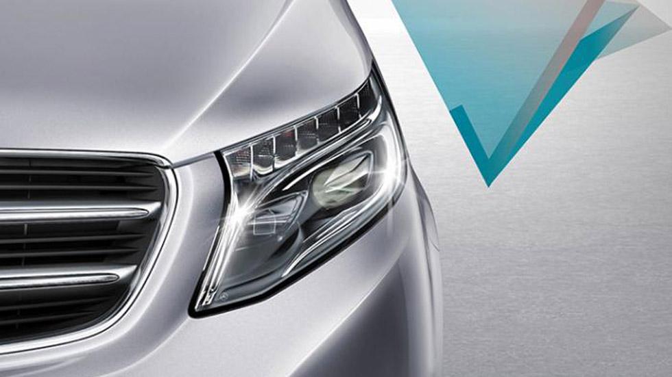 Nuevo Mercedes Clase V, el primer guiño