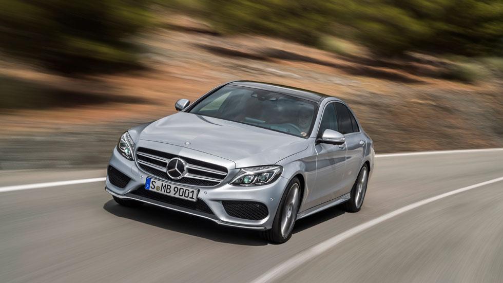 Un Mercedes Clase C casi de ciencia ficción