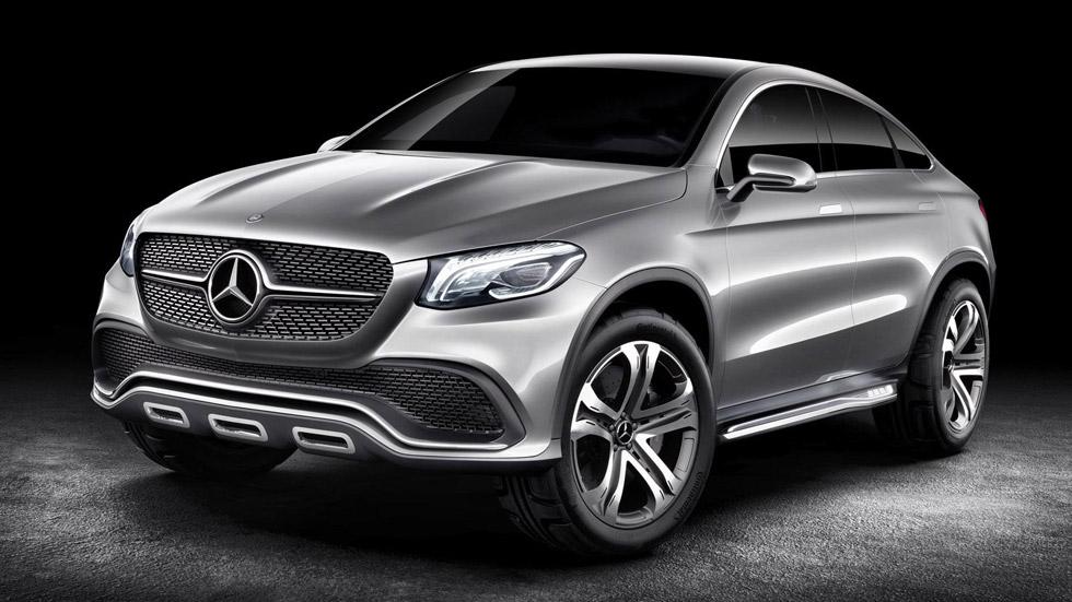 Mercedes Concept Coupe SUV: primer aperitivo del MLC
