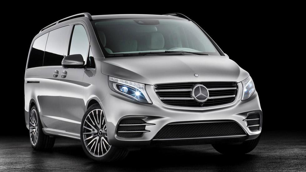 Mercedes Concept V-ision e, la furgoneta híbrida enchufable