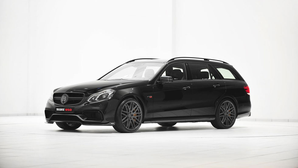 Mercedes E63 AMG Estate Brabus 850, un familiar poco convencional