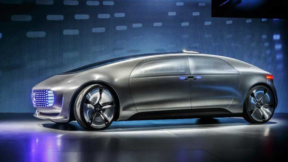 Mercedes-Benz F015 Luxury in Motion, la conducción autónoma más lujosa