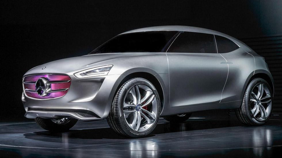 Mercedes G-Code Concept, un prototipo sensible al sol y al viento