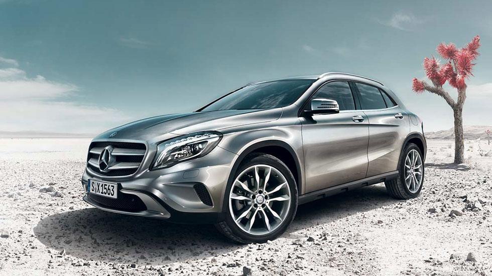 Mercedes GLA, 5 estrellas EuroNCAP