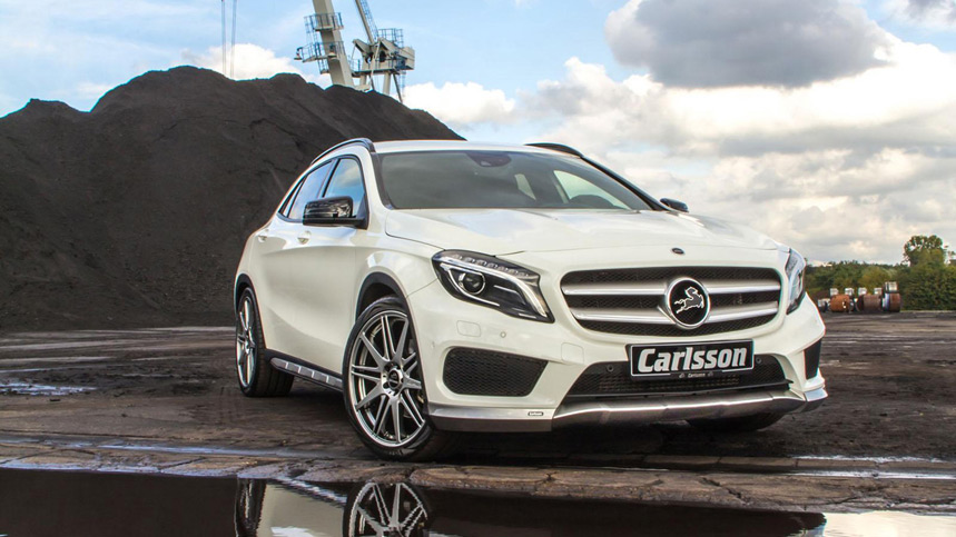 Mercedes GLA por Carlsson, agresividad de etiqueta